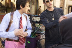 Vince Offer and Adrien Brody